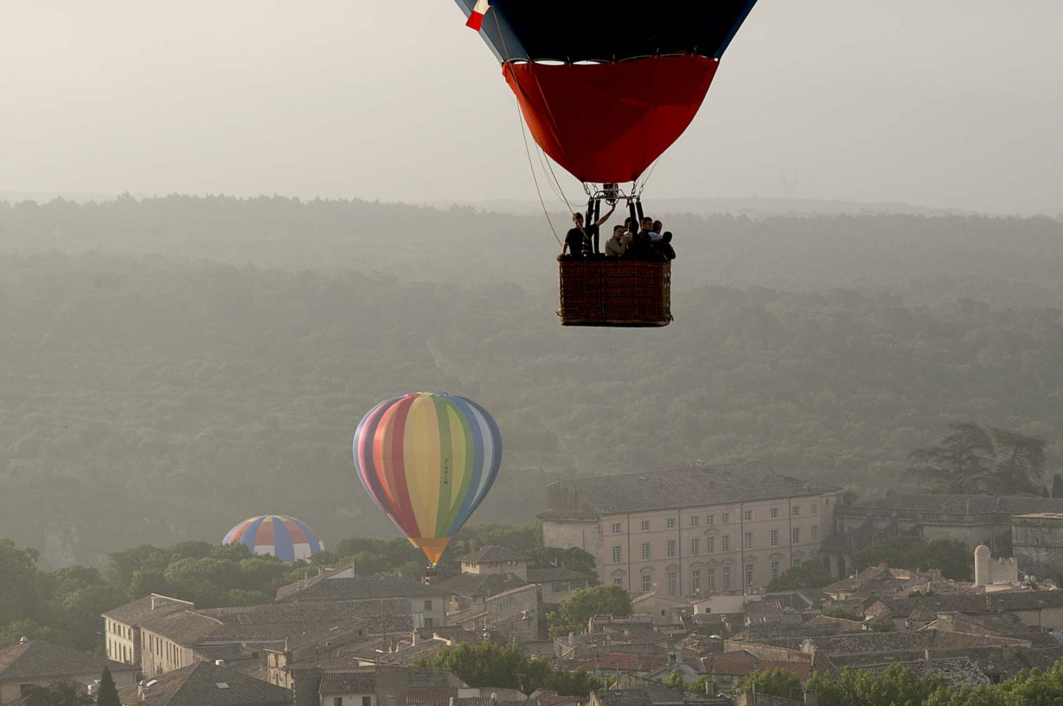 montgolfiere uzes