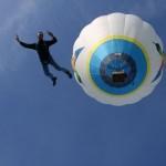 Largage en parachute