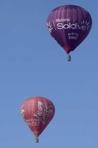 Communication d'entreprise avec ballon