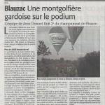 Revue de presse - Midi Libre - 2012
