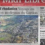Revue de presse - Couverture de Midi libre