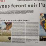 Revue de presse - Républicain d'Uzès - 2014
